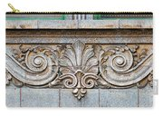 Ornamental Scrollwork Panel - Architectural Detail Carry-all Pouch