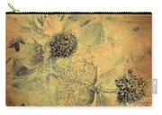 Ornamental Thistle Flower Carry-all Pouch