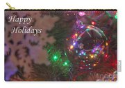 Ornaments-2096-happyholidays Carry-all Pouch