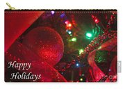 Ornaments-2107-happyholidays Carry-all Pouch