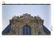 Ornate Architectural Artwork On The Musee Du Louvre Buildings In Paris France  Carry-all Pouch