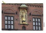 Ornate Building Artwork In Copenhagen Carry-all Pouch