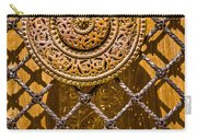 Ornate Door Knob Carry-all Pouch by Carolyn Marshall