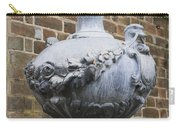 Ornate Garden Urn Carry-all Pouch