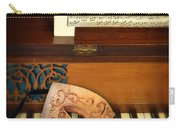 Ornate Mask On Piano Keys Carry-all Pouch