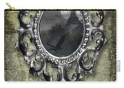 Ornate Metal Mirror Reflecting Church Carry-all Pouch