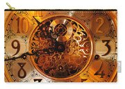 Ornate Timekeeper Carry-all Pouch