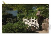 Ornate White Stone Bridge  Carry-all Pouch
