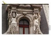 Ornate Window Of City Hall Philadelphia Carry-all Pouch