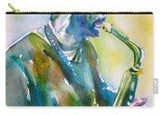 Ornette Coleman - Watercolor Portrait Carry-all Pouch