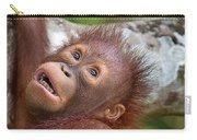 Orphan Baby Orangutan Carry-all Pouch