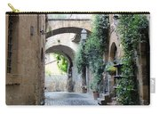 Orvieto Street With Arches Carry-all Pouch