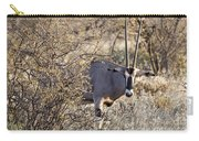 Oryx Long Horned Antelope Carry-all Pouch