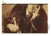 Oscar Wilde 1882 Carry-all Pouch by Napoleon Sarony