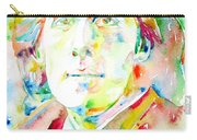 Oscar Wilde Watercolor Portrait.1 Carry-all Pouch