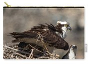 Osprey Family Huddle Carry-all Pouch by John Daly