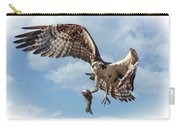 Osprey In The Clouds Carry-all Pouch