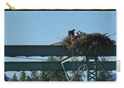 Osprey Nest With Mom And Chicks Carry-all Pouch