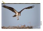 Osprey Returning To Nest Carry-all Pouch