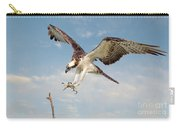 Osprey With Talons Extended Carry-all Pouch