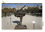 Ostrich Art At The Jardin Des Tuileries In Paris France Carry-all Pouch