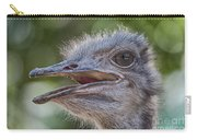 Ostrich Bokeh  Carry-all Pouch