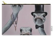 Ostrich Family Carry-all Pouch