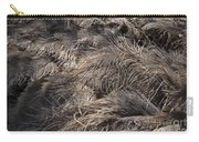 Ostrich Feathers  Carry-all Pouch