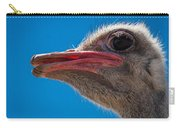 Ostrich Profile Carry-all Pouch