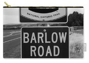 Barlow Road Cutoff Sign Carry-all Pouch