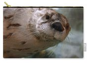 Otter Be Lookin' At You Kid Carry-all Pouch by John Haldane
