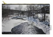Otter Brook Scene Carry-all Pouch