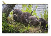 Otter Family Fun Carry-all Pouch