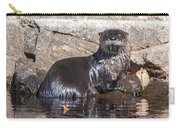 Otter Posing Carry-all Pouch