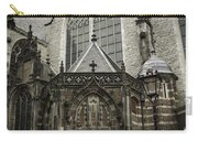 Oude Kerk Door With Bikes Amsterdam Carry-all Pouch