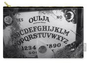 Ouija Board Queen Mary Ocean Liner Bw Carry-all Pouch