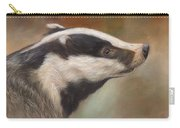 Our Friend The Badger Carry-all Pouch
