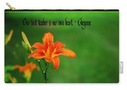 Our Heart Teaches Carry-all Pouch