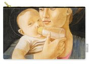 Our Lady Nursing The Child Carry-all Pouch
