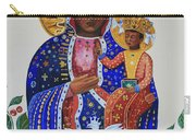 Our Lady Of Czestochowa Carry-all Pouch