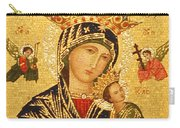 Our Lady Of Perpetual Help  Carry-all Pouch by Philip Ralley