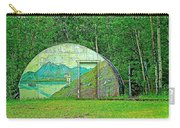 Our Lady Of The Way Quonset Hut Chapel In Haines Junction-yt Carry-all Pouch