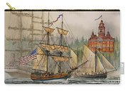 Our Seafaring Heritage Carry-all Pouch by James Williamson