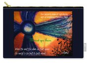 Out Beyond Ideas Carry-all Pouch by Catherine McCoy