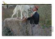 Out Of Africa  Friendly Wolves Carry-all Pouch