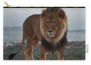 Out Of Africa Lion 3 Carry-all Pouch