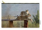 Out Of Africa Lions Carry-all Pouch