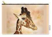 Out Of Africa's Giraffe Carry-all Pouch
