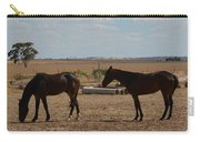 Outback Horses Carry-all Pouch