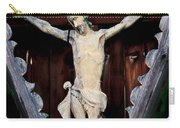 Outdoor Display Of The Crucifixion Of Christ Carry-all Pouch